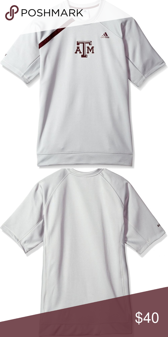 d07052c01 adidas TEXAS A amp M AGGIES Men s Basketball Shirt This Short Sleeve is the  perfect Tee