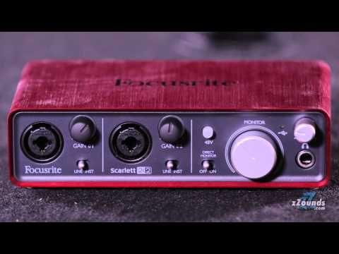 Focusrite Scarlett 2i2 USB Audio Interface: Get Scarlett quality in