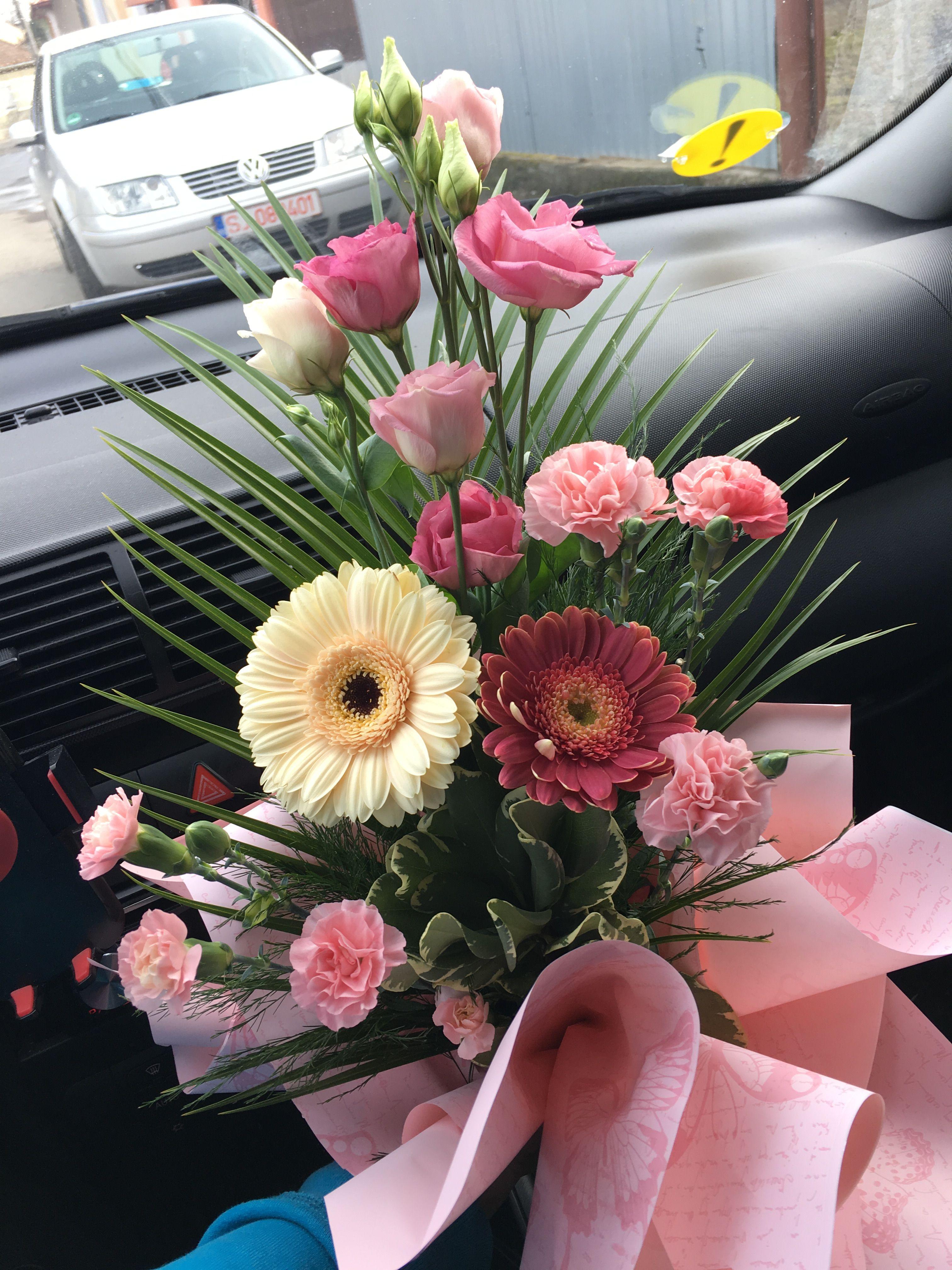 маленький букет цветов фото в реале