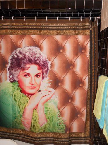 Maude Bea Arthur Portrait Shower Curtain Golden Girls Kehinde