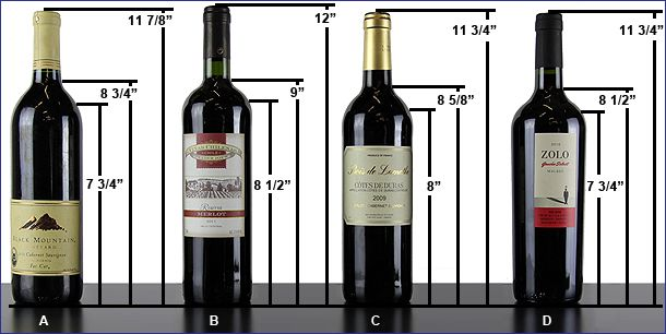 Standard Wine Bottle Size Google Search Miniatures