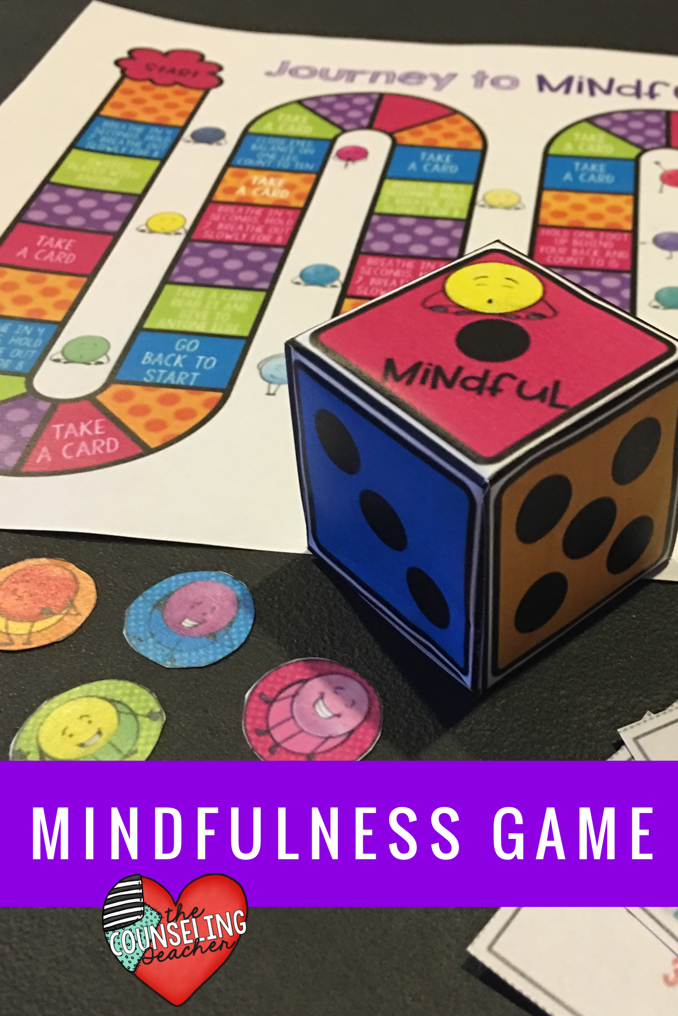 Mindfulness Board Game With Images