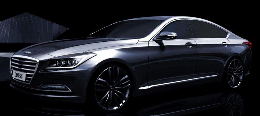 [2015 Hyundai Genesis Revealed in Official Renderings] #Mungenast #Hyundai #Genesis