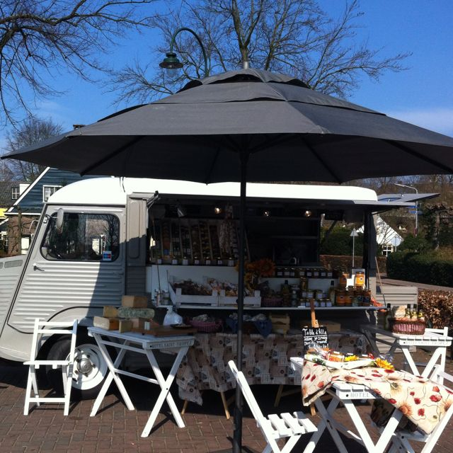 Classy Mobile French Food + Terrace ...location Laren Holland