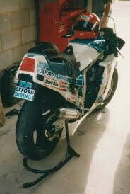 Trevor Nation's Oxford Fairings bike.