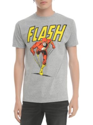 DC Comics The Flash Retro T-Shirt