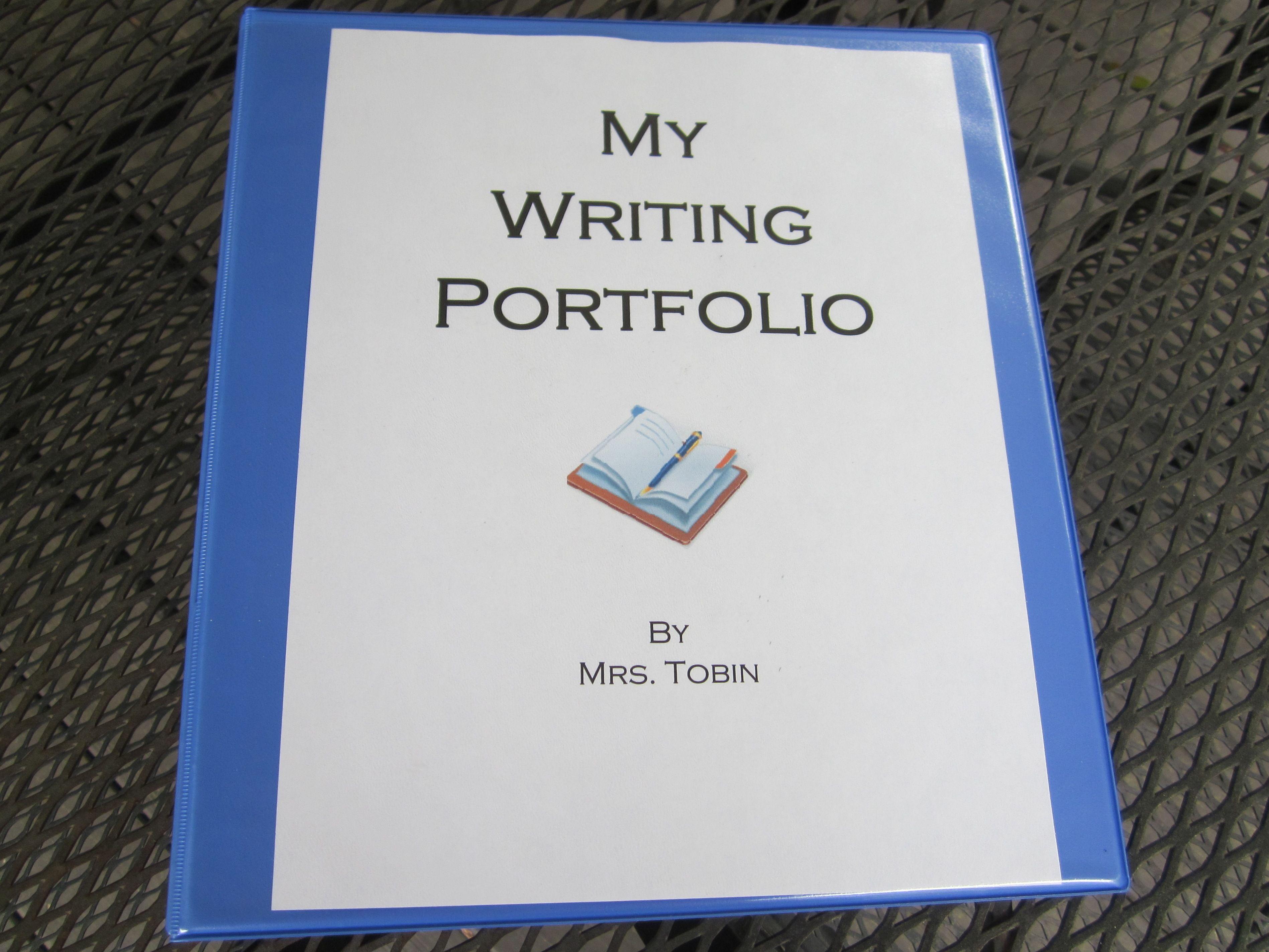 Writing Portfolios Writing Portfolio Teaching Writing