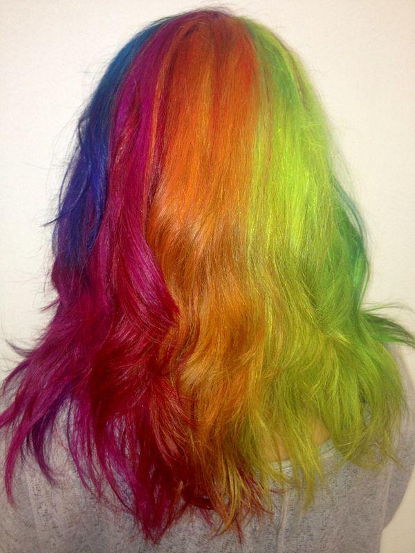 Jackie Rainbow Hair Hair Styles Pretty Hair Color Rainbow Hair