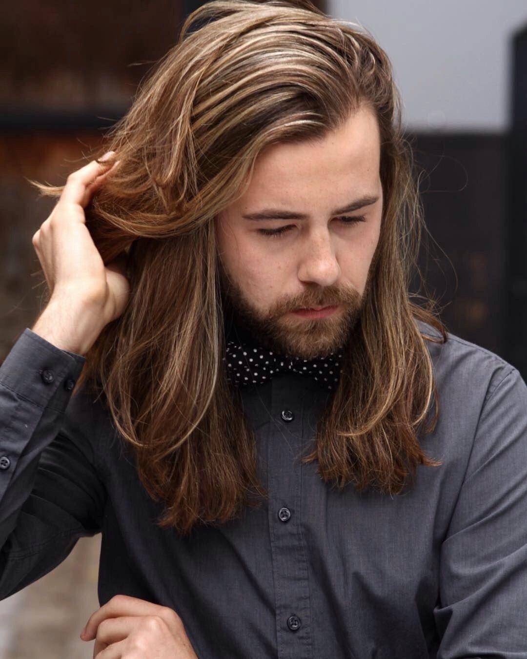 Pin By Noida Irfan On Long Hair Men Long Hair Styles Men Long Hair Beard Medium Length Hair Men