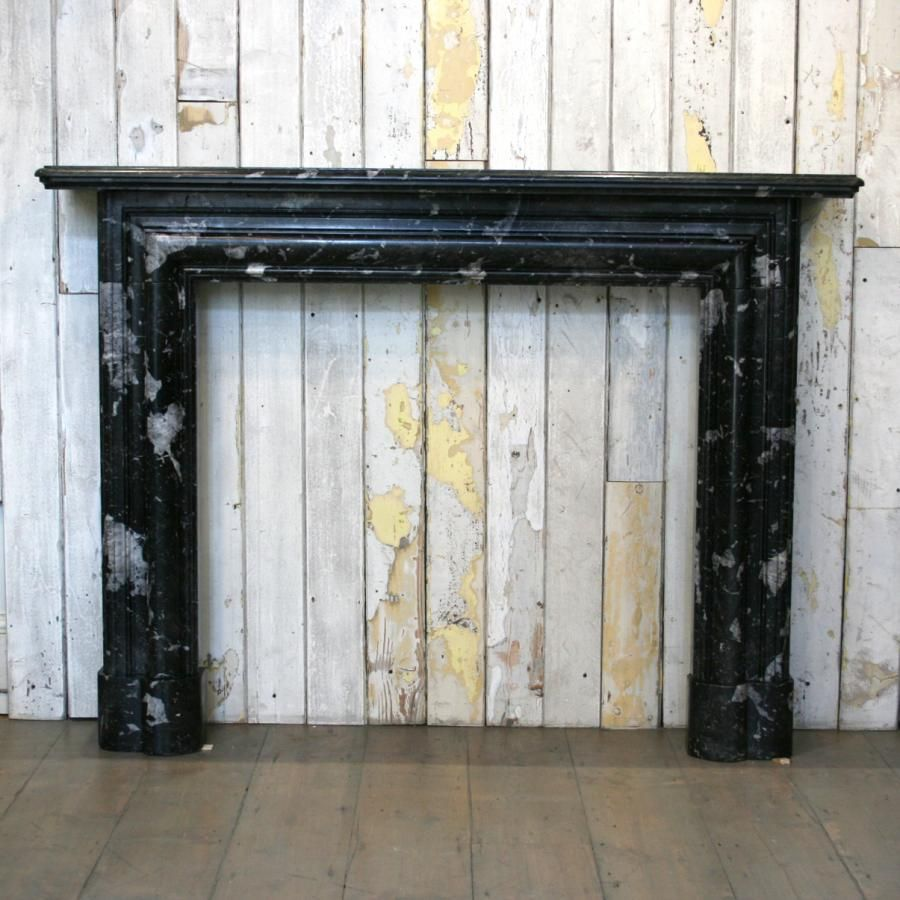 Brilliant Antique Black Marble Fire Surround Fireplace Marble Fire Download Free Architecture Designs Boapuretrmadebymaigaardcom