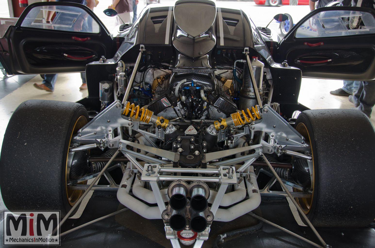2009 Pagani Zonda R engine 6.0 L V12 750 HP 710 NM | Pagani ...