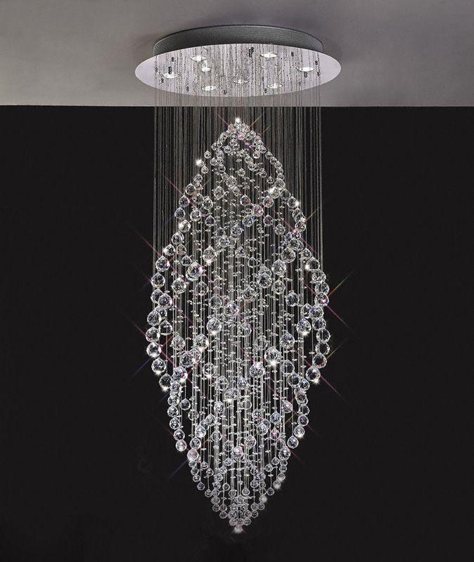 Floating Crystal Pendant Chandelier Lighting 15 Beautiful