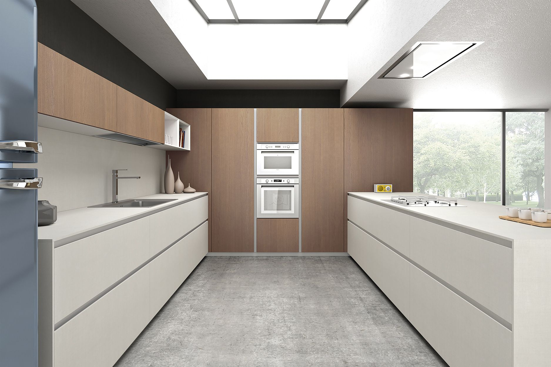 armony cucine - model t16   model_kitchens with grip grooves