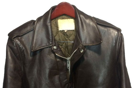 Schott 674 Ms Leather A 2 Flight Jacket Men S Size 40 By Eagleages