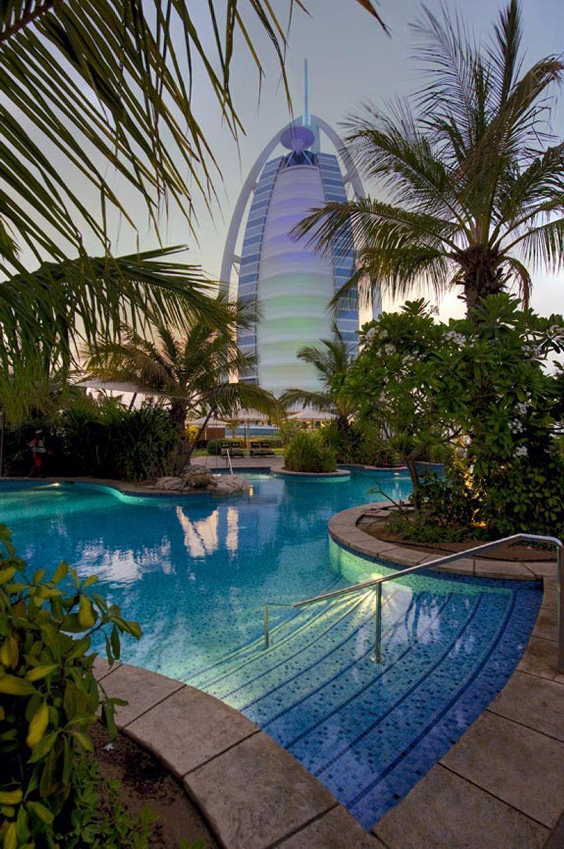 Burj Al Arab Dubai Hotel Pool