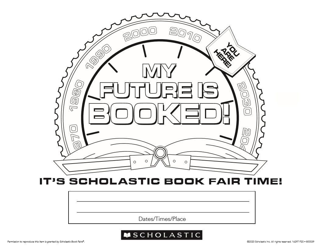 Pin On Pre K Es Fall 20 Book Fair Time Machine