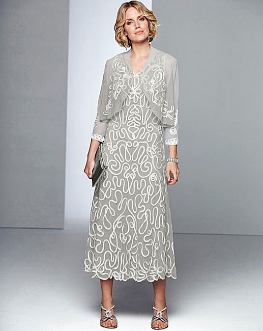 Nightingales Cornelli Dress And Shrug J D Williams With Images