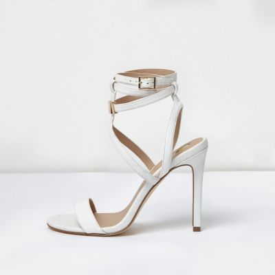 river island strappy sandals outlet