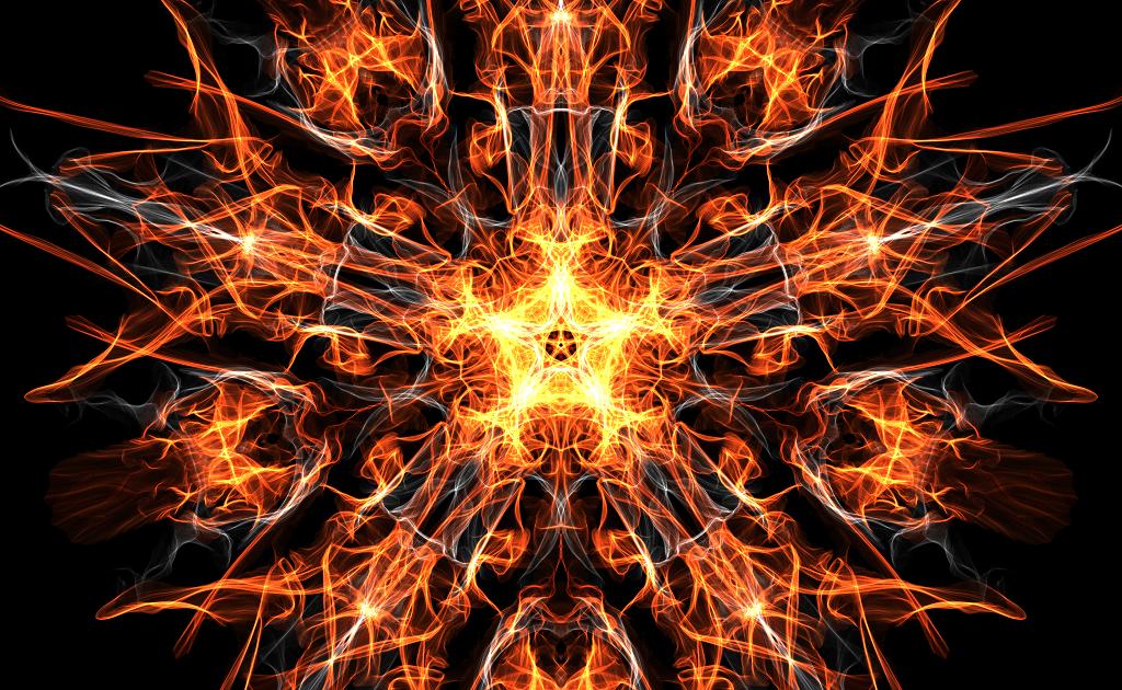 Digital art Sacred geometry
