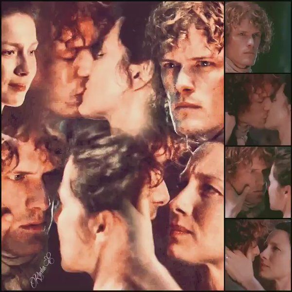 """racha on Twitter: """"-On your way, Soldier. Favorite Jamie And Claire moments. #JamieAndClaire #Outlander #ThatKiss #TrueLove @JAMMFWarriors ❤😘❤ https://t.co/cgNIyZ8K8A"""""""