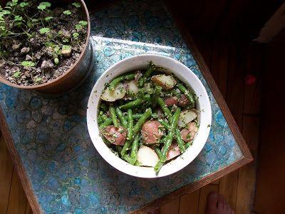 Metaphysical Quandary Green Bean Salad