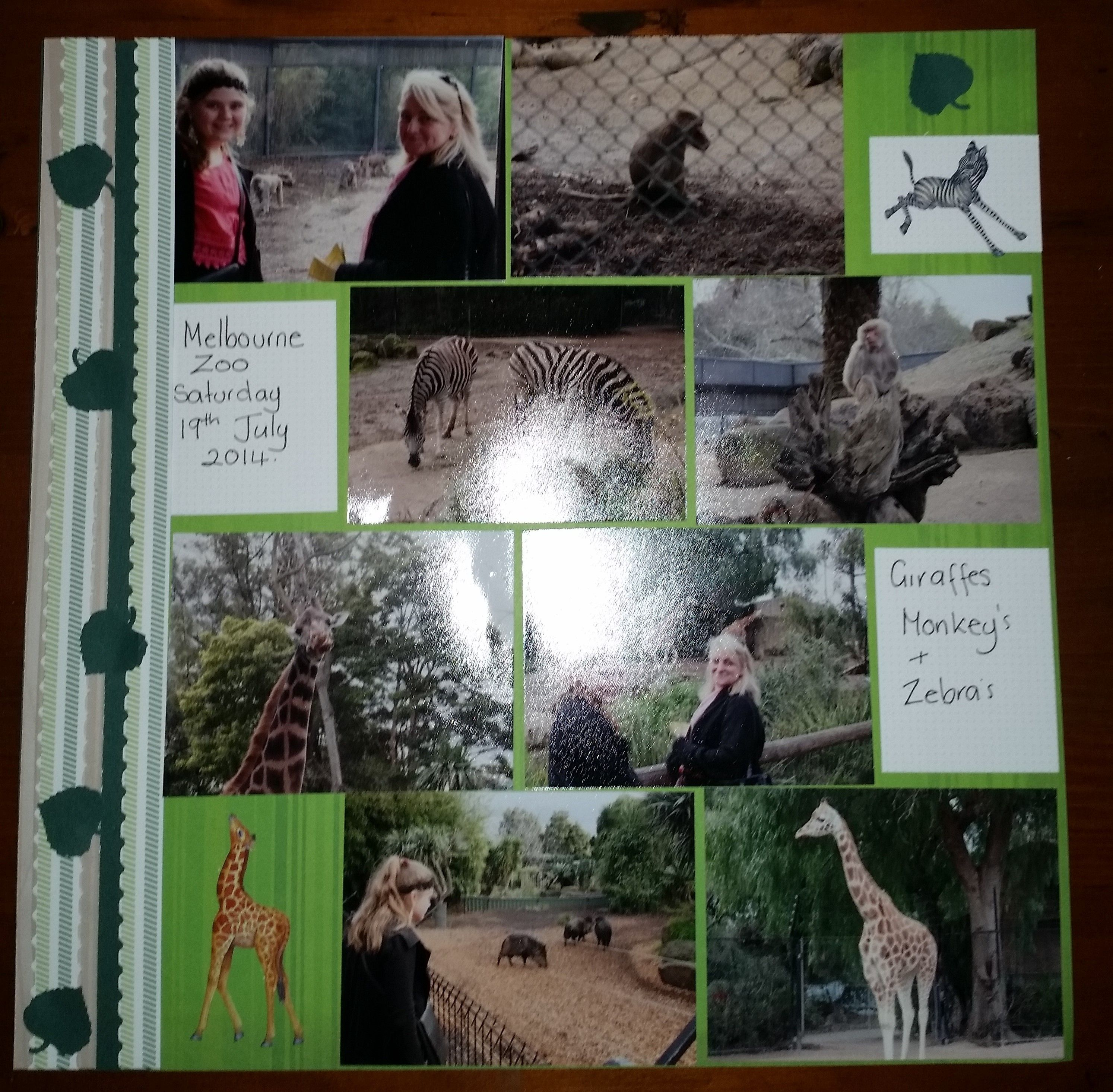 Playful Primary and evergreen cardstock