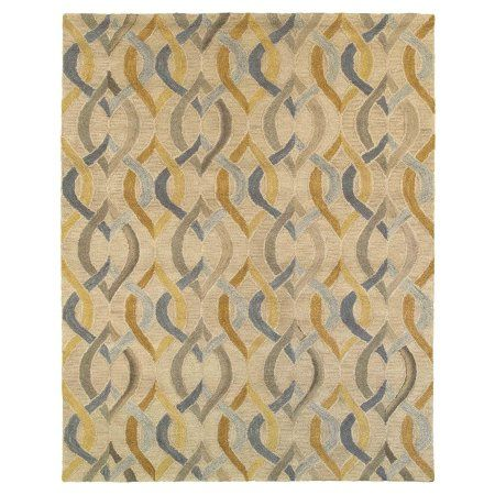 Integrity Honey Gold 8 Ft 9 In X 11 Ft 9 In Pure Wool Hand