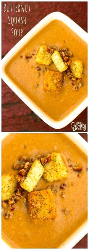 Butternut Squash Soup #butternutsquashsoup