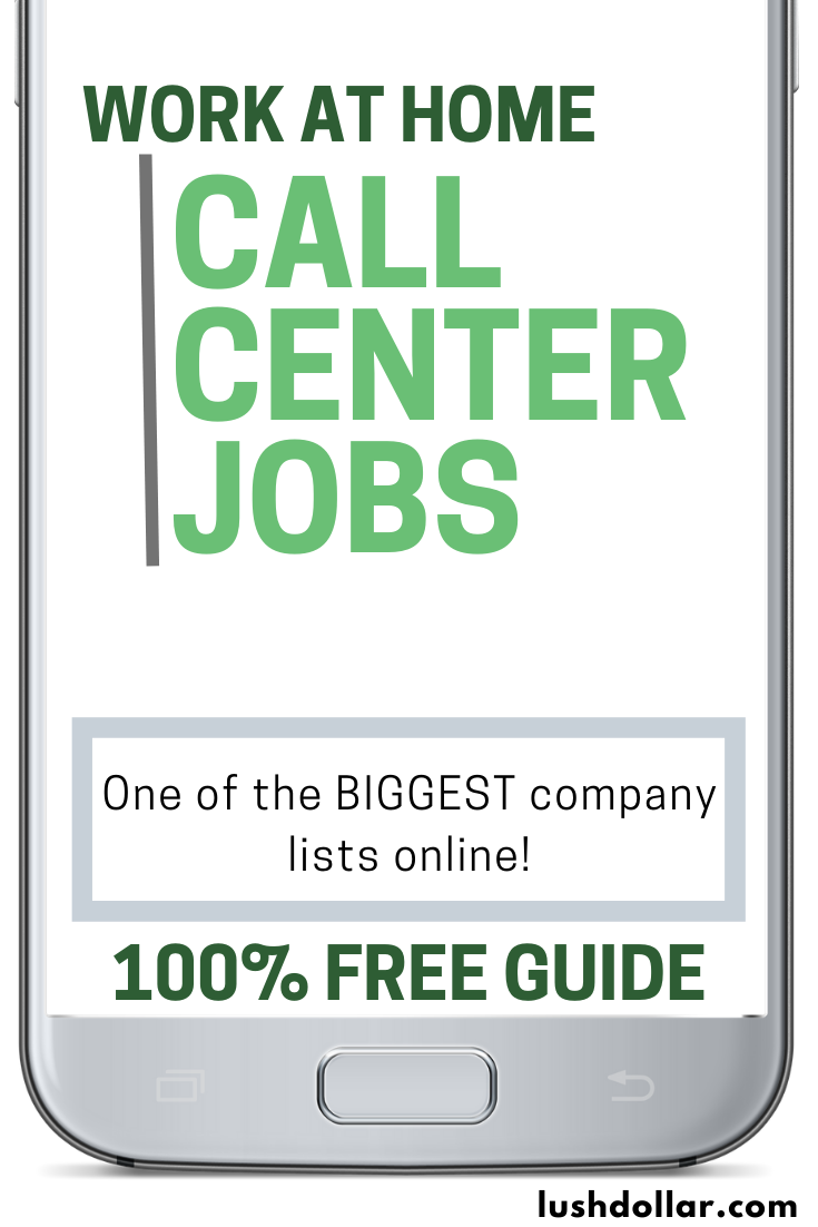Work At Home Call Center Jobs Huge List To Explore In 2020