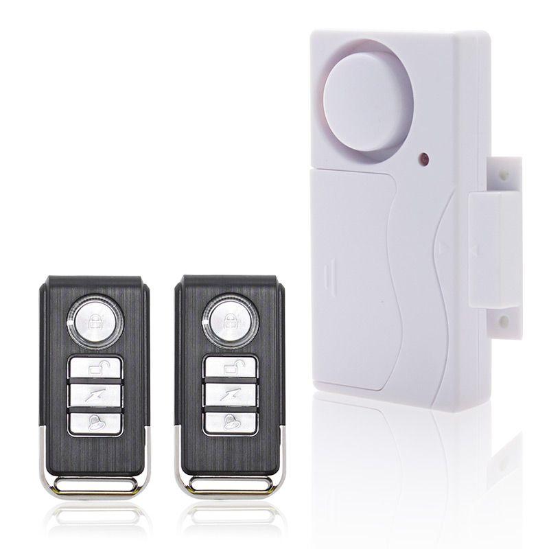 Porte E Finestre di Sicurezza ABS Telecomando Senza Fili Sensore Porta Host di Allarme Antifurto Sistema di Allarme di Sicurezza Domestica Kit di Protezione