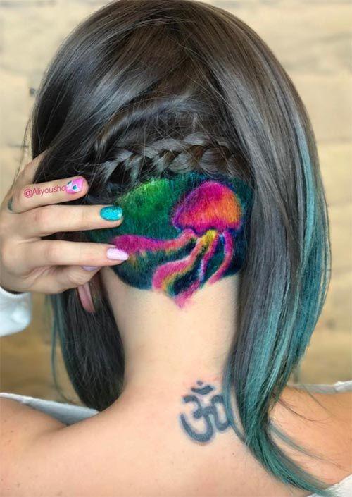 Photo of 54 Badass Undercut Haar Tattoos für Frauen in Liebe mit Haar…