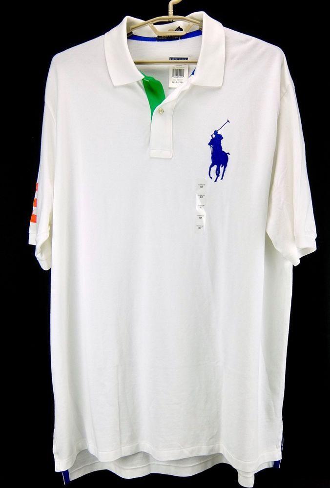 Polo White Ralph Shirt Tall 3xlt Mens Pony Lauren Large And Big 2xlt ARLj35q4
