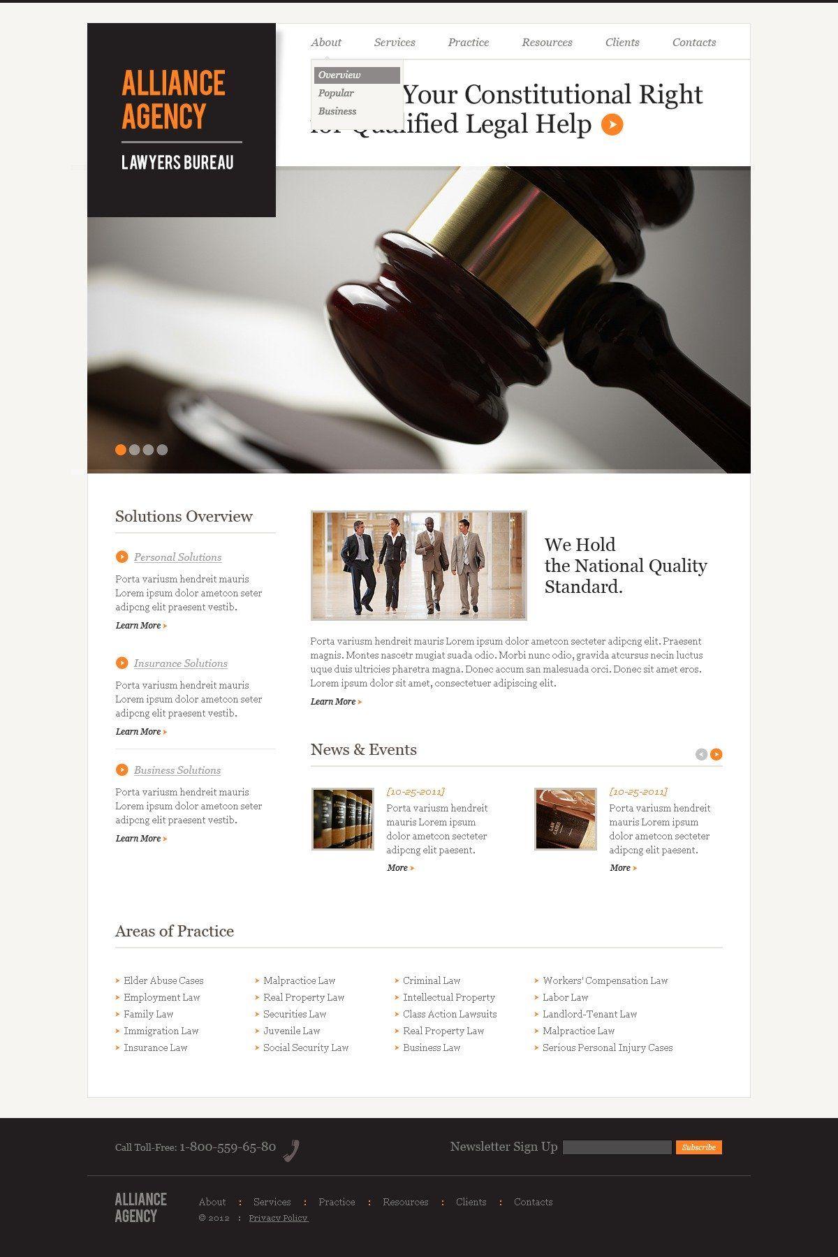 Law Firm Responsive Website Template Templatemonster Website Template Law Firm Website Responsive Website Template