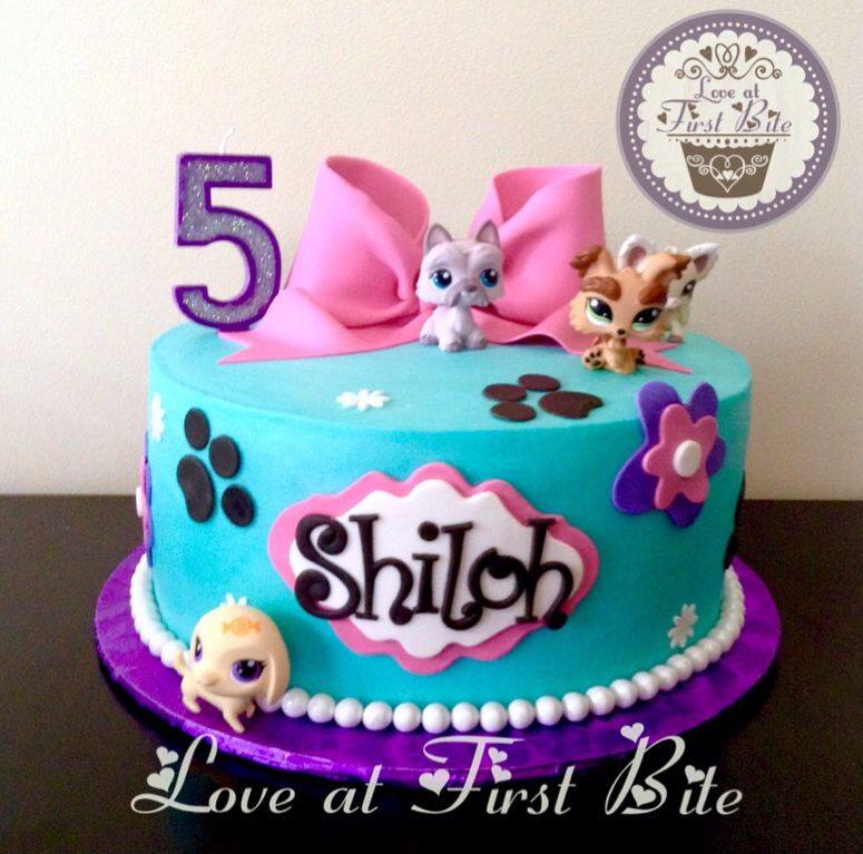 Littlest Pet Shop Cake by Love at First Bite in Nashville TN