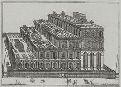 Die Hangenden Garten Der Semiramis In Babylon Helles Kopfchen Weltwunder Terrassen Treppe Botanischer Garten