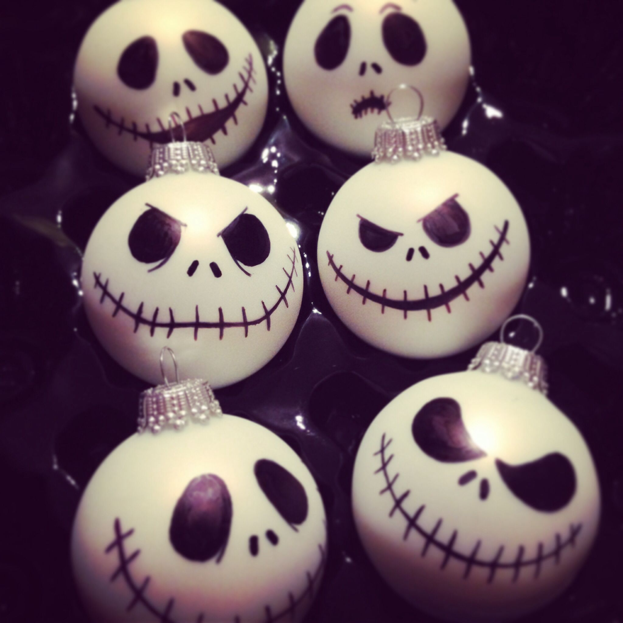 The nightmare before christmas ornaments - Diy Nightmare Before Christmas Ornaments Not Sure I Would Use Them Myself