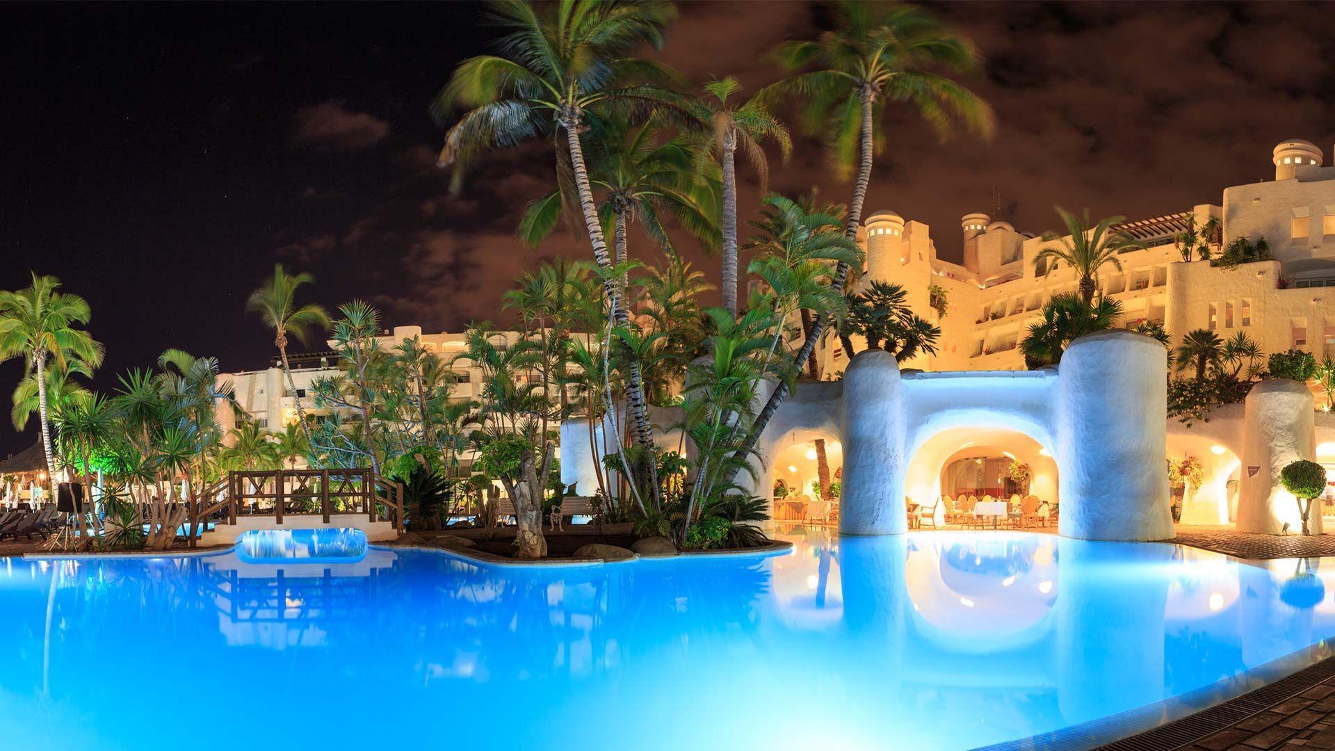 Iles Canaries Tenerife Hotel Jardin Tropical Tenerife Et Jardin