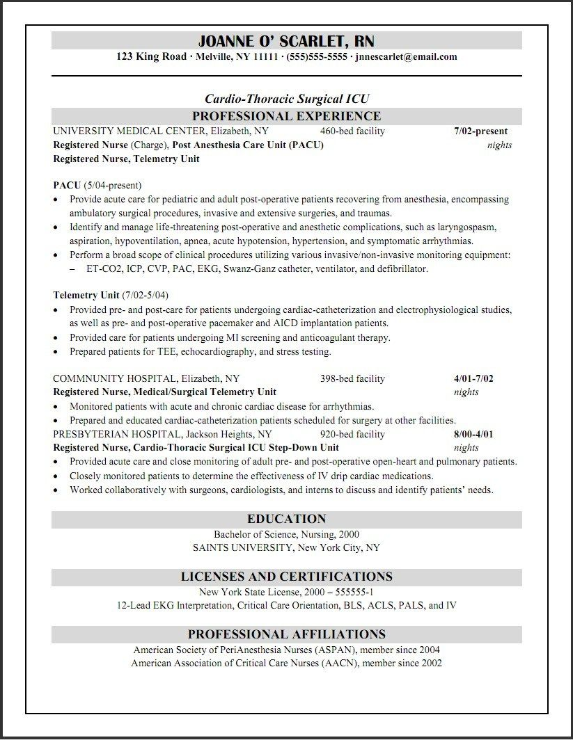 Resume Examples Nurse Practitioner Resume Examples Pinterest