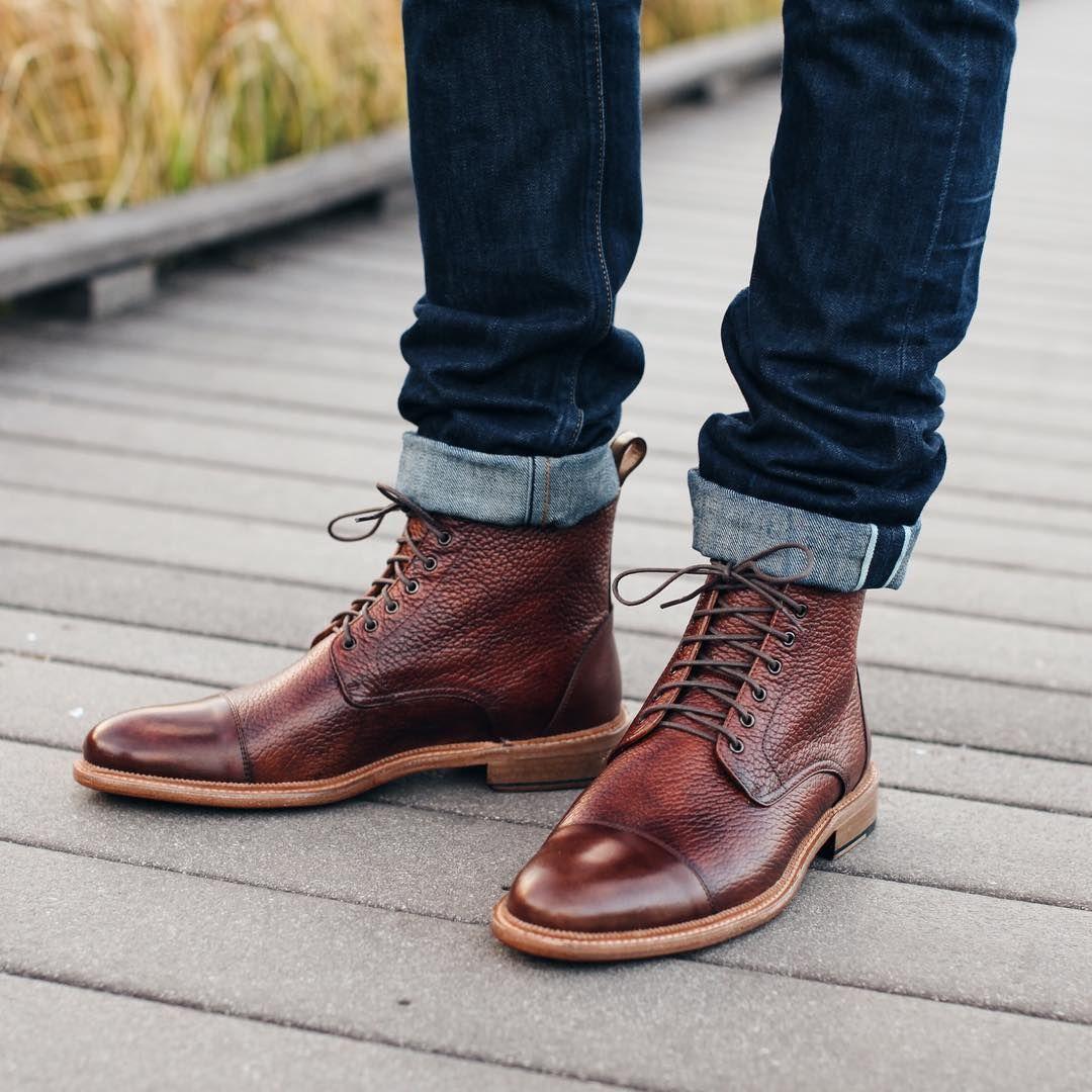 b630c2a72dcd Brown Rome boots from  taft . beautiful boots. Follow  runnineverlong on  Instagram for more inspiration  taft  boots  denim