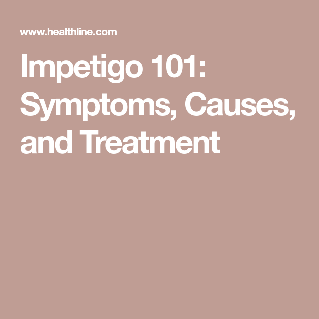 Everything You Need to Know About Impetigo | GET WELL SOON
