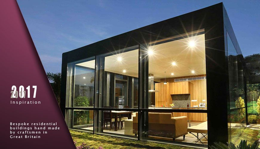 Bespoke residential prefabricated homes. Compact portable modular homes from Bauhu specialists in & Bespoke residential prefabricated homes. Compact portable modular ...