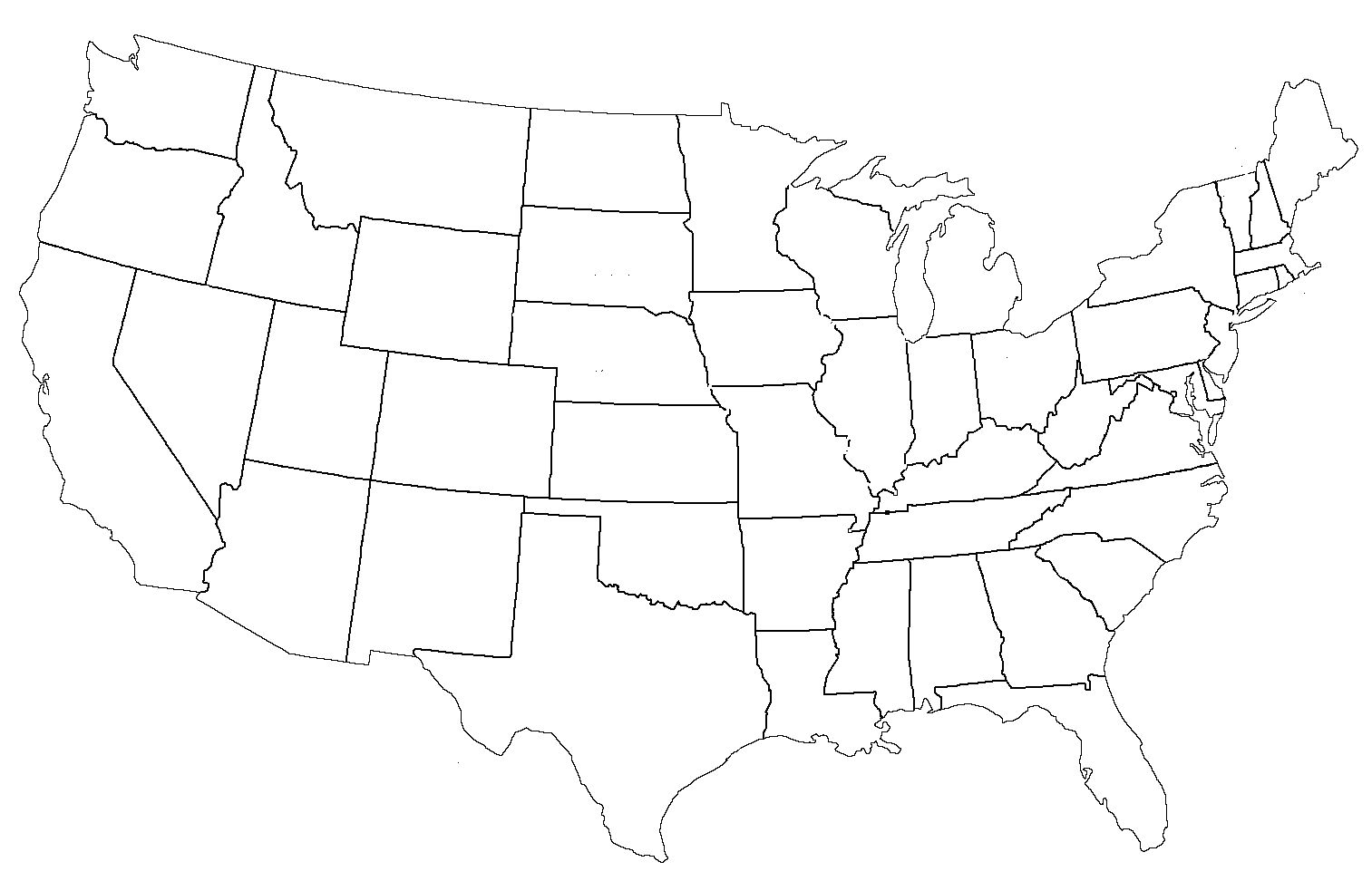 File United States Administrative Divisions Blank For