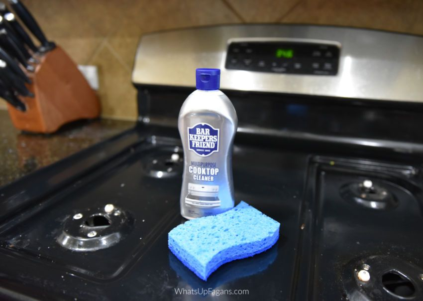 Gas Stovetop Cleaning Hacks