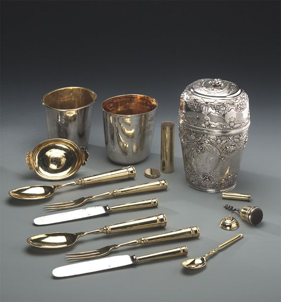 Bonnie Prince Charlie's Silver Travelling Canteen, Its