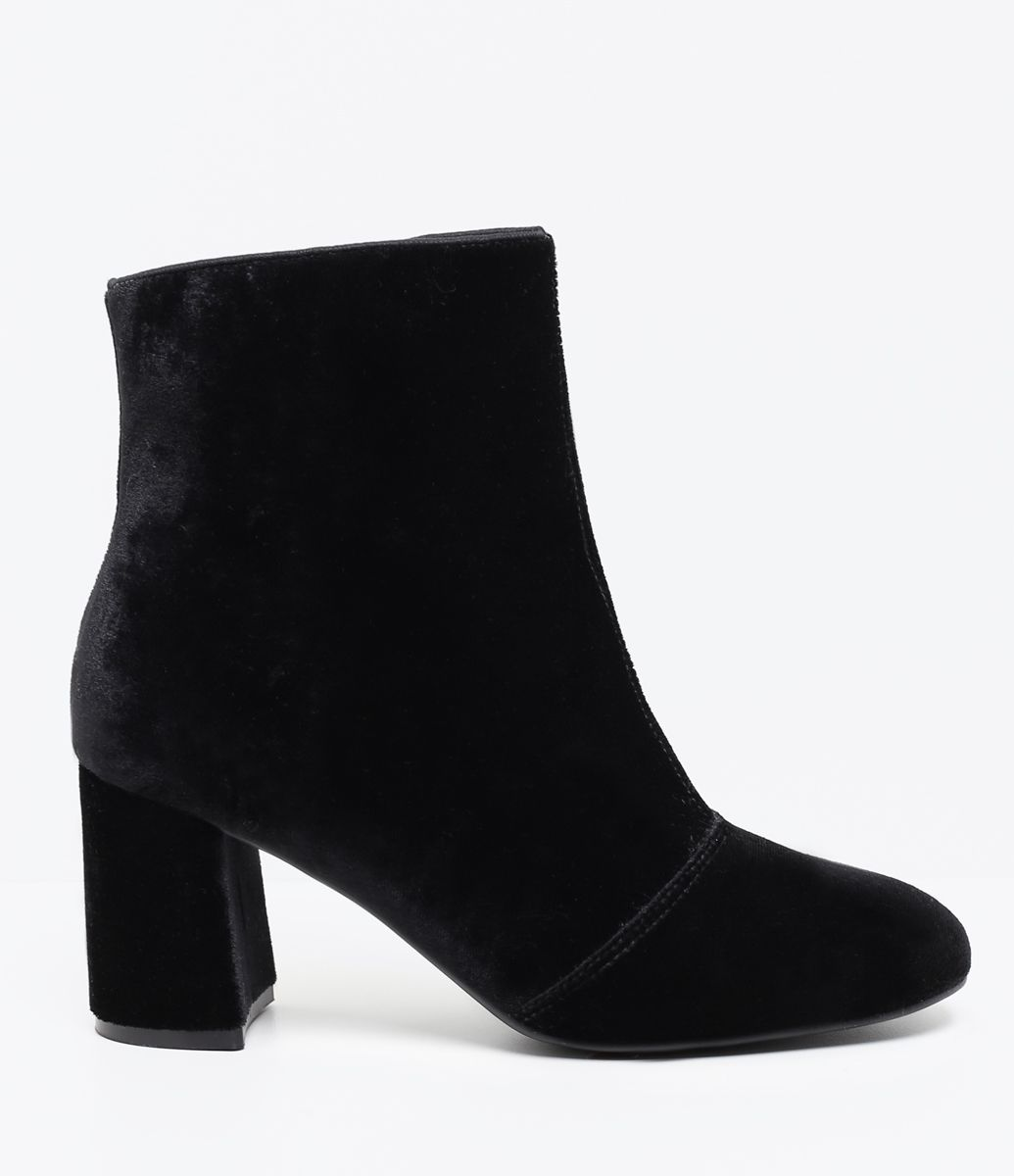 Boots Bota Fashion Cano baixo Heels Ref. 17 4405