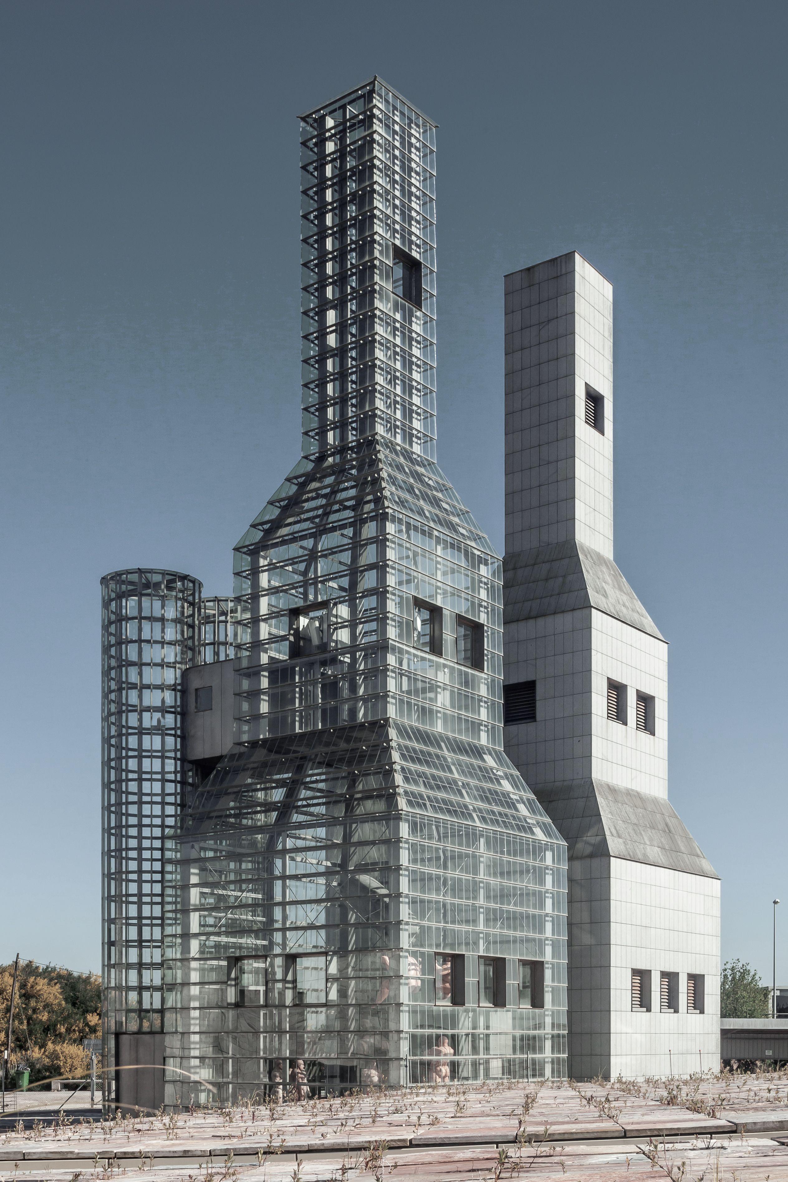John Hejduk towers (Peter Eisenman)