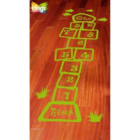 Vinilo Decorativo Infantil- RAYUELA, para decorar y jugar . WALL STICKER DECOR