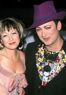 My birth parents: Cyndi Lauper & Boy George. It's time everyone knew the truth.