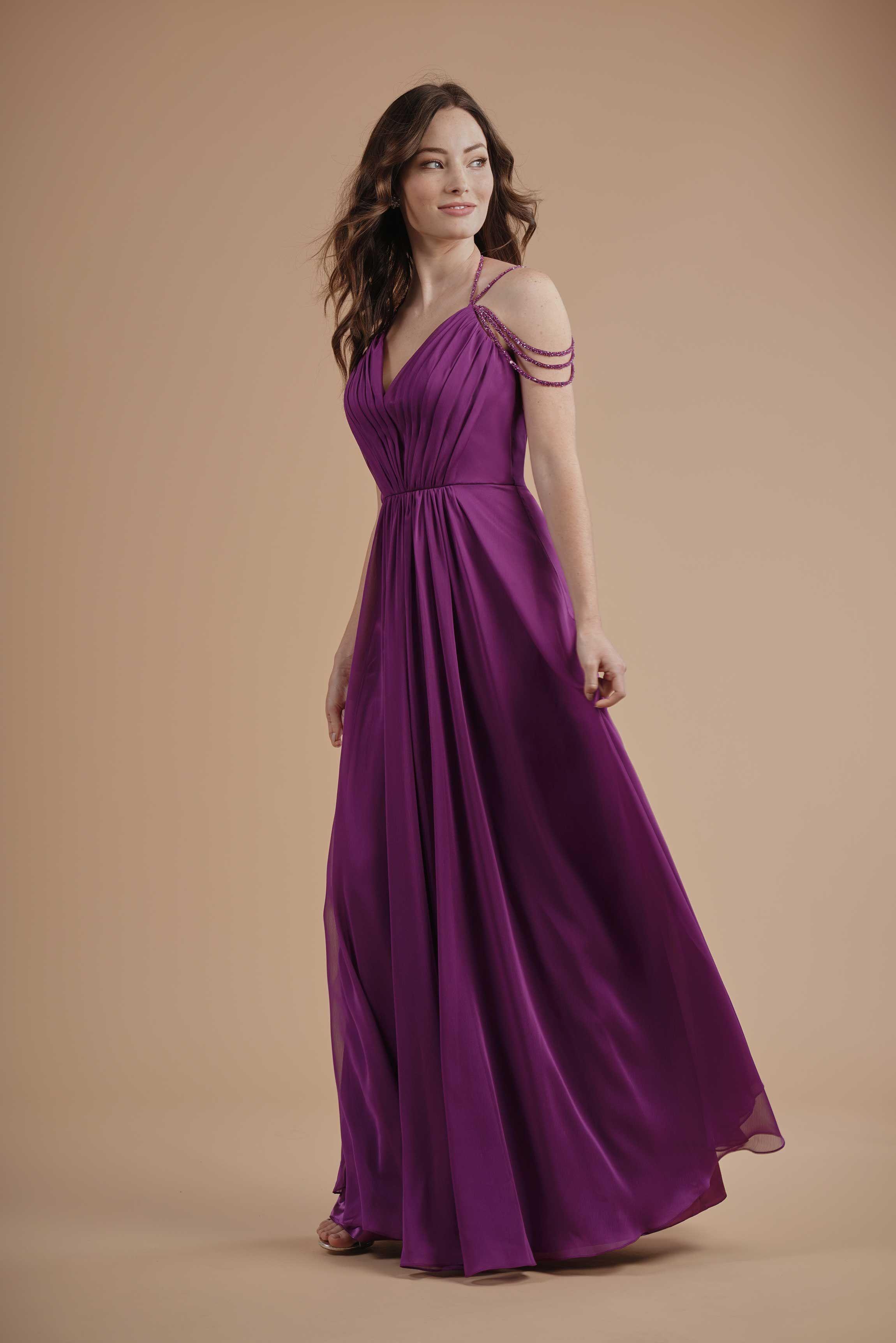 Abendmode Jasmine Abendkleid L214003 Event Kleider Brautjungfernkleid Abendkleid