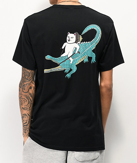 Ripndip Ranger Nerm Black Pocket T Shirt Zumiez In 2020 Pocket Tshirt T Shirt Slim Fit Work Pants